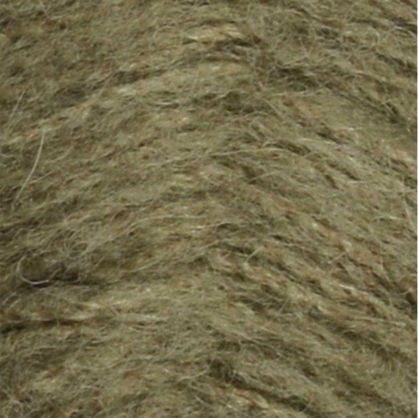 Børstet Alpakka - Mosegrøn 9554 - 104464